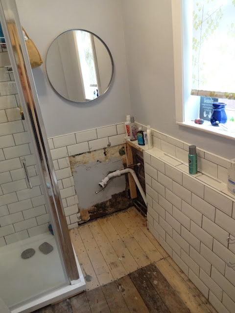 Bathroom Renovation in Progress