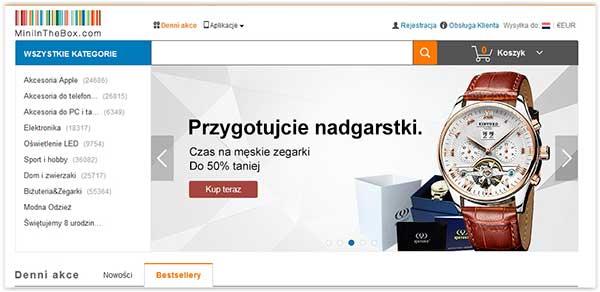 2b9d3b921 7 Najlepszych Chińskie Sklepy Internetowe dla Polskich - Zakupy za ...