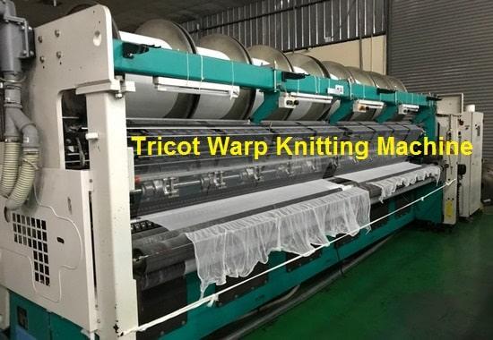 Pattern Mechanism of Tricot Warp Knitting Machine - Textile