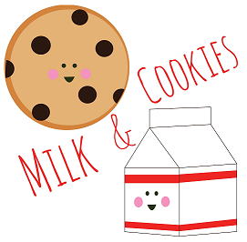 Milk And Cookie Birthday Party Printables- Free Cutouts