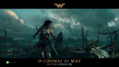 Wonder Woman (2017 / Movie) - 'Diana vs. Ares' / 'Wonder Review' Singapore TV Spot - Screenshot