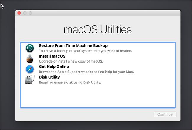 Installa macOS