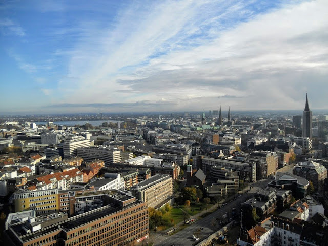 Cool things to do in Hamburg Germany: Climb the spire of St. Michel's church for views of Hamburg