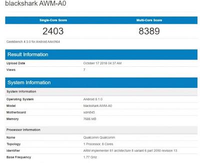 Xiaomi akhirnya resmi mengumumkan jadwal peluncuran Xiaomi Black Shark generasi ke  HP Gaming Terbaru Xiaomi Black Shark 2 Siap Dirilis