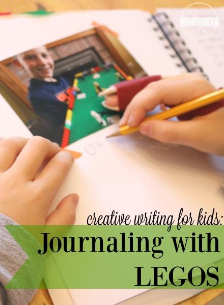 creative writing with LEGO