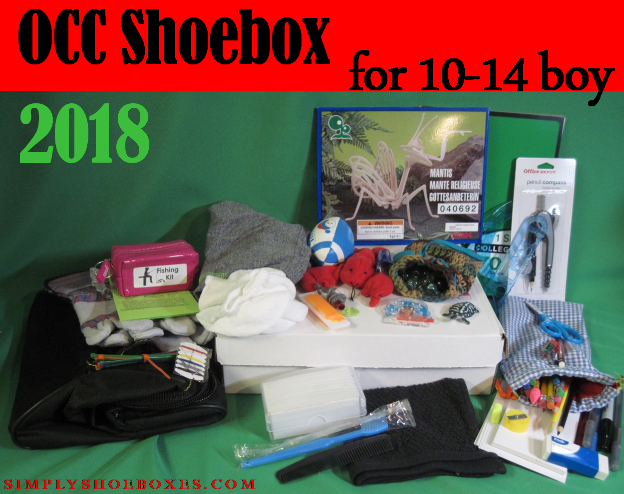 Operation Christmas Child Boxes 2019.Simply Shoeboxes Operation Christmas Child Shoebox For 10