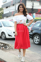 Shriya Saran looks super cute in off shoulder top and Red Skirt ~  Exclusive Celebrities Galleries 066.JPG
