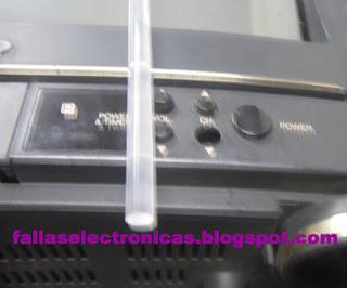 botones de tv malogrados