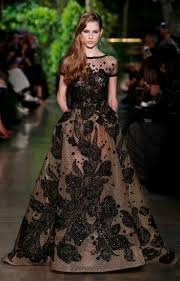 Model Gaun Kebaya Panjang Terbaru