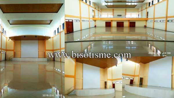 Ruang Dalam Gedung Kesenian Bojong Menteng Rawa Lumbu Kota Bekasi