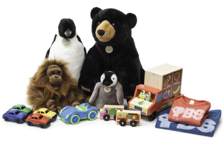 PBS KIDS toys available at Whole Foods