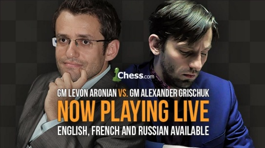 Blitz en direct: Grischuk vs Aronian