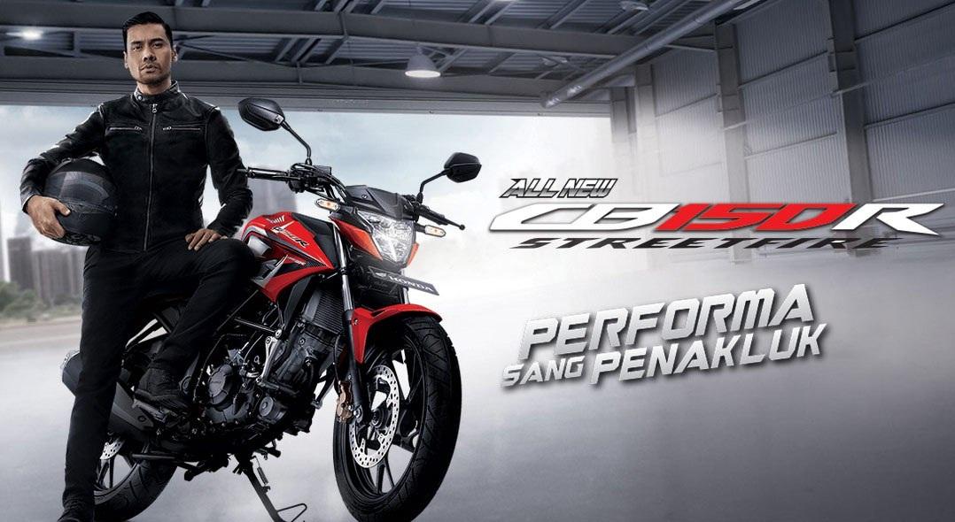 Harga Motor Honda CB150R StreetFire Lengkap 2018