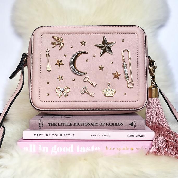 ALDO Pink YOISA BAG Prada Cahier Astrology Bag Dupe
