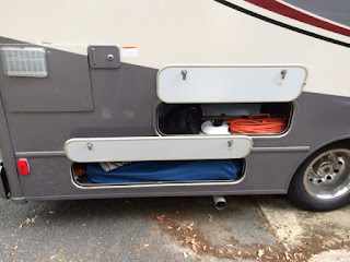 Winnebago Fuse 23a outside storage