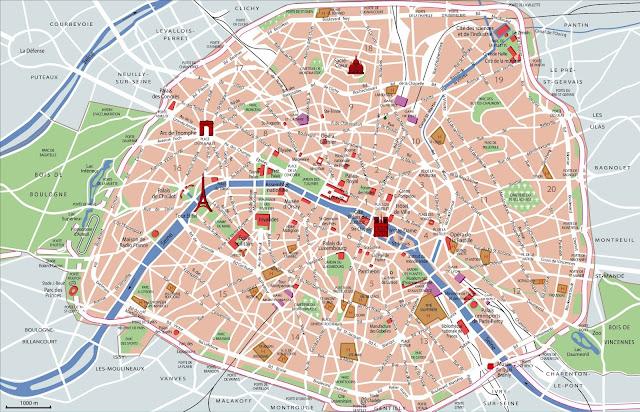 paris; france; Paryż; Francja; trip; trasa; podróż; mapa; map