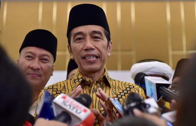 Presiden Jokowi Hadiri Buka Puasa Bersama Partai Golkar