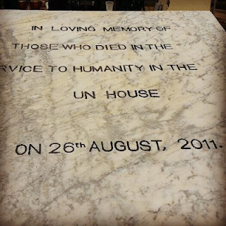 , UN workers in Nigeria pay tribute to their colleagues killed in a bomb attack in Abuja (Photos), Latest Nigeria News, Daily Devotionals & Celebrity Gossips - Chidispalace