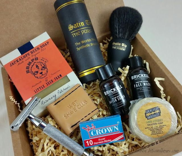 Wet Shave Club Men's Subscription Box and $10 Off Coupon