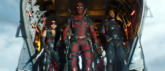 Ryan Reynolds Zazie Beetz Terry Crews David Leitch | X-Force Deadpool 2