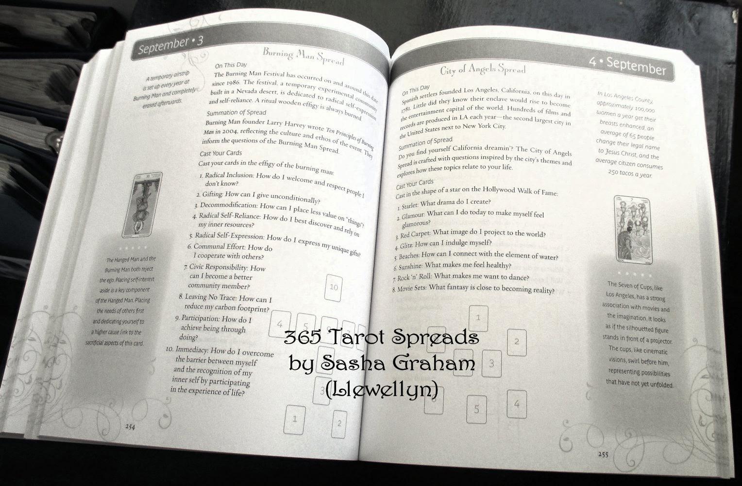 Tarot Notes: REVIEW: 365 Tarot Spreads
