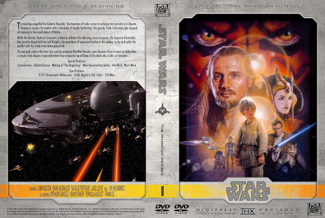 Star Wars: Episode I - The Phantom Menace DVD Cover