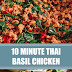 10 Minute Thai Basil Chicken