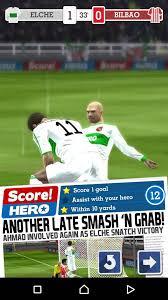تحميل لعبة Score Hero مهكره
