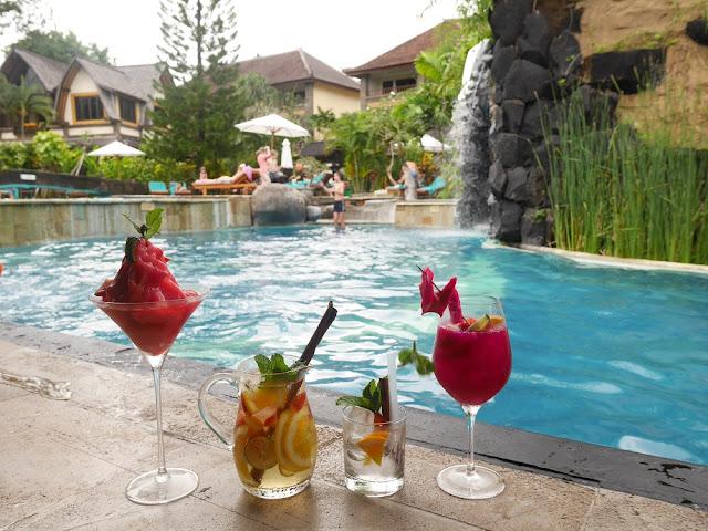 Pool bar di Hotel Vila Lumbung