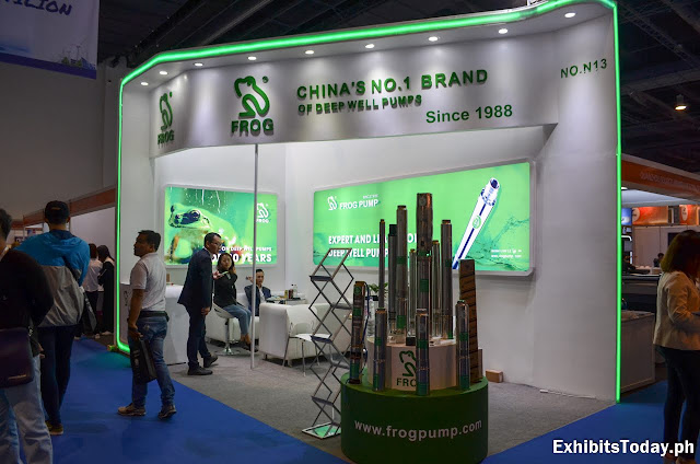 Frog Pump Exhibition Booth