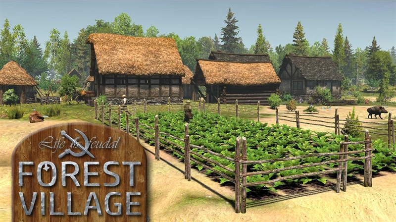 Life is Feudal Forest Village Free Download Poster