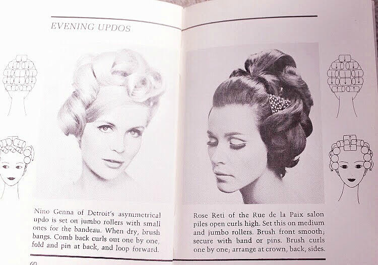 A Vintage Nerd Dell Purse Books 1960s Hairstyles Vintage Hair Vintage Blogger Vintage Styles for Long Hair