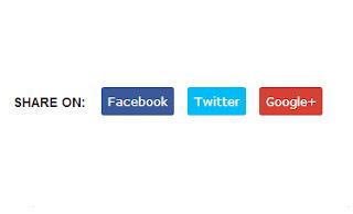 Memasang Simple Share Button Responsif Untuk Blog