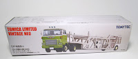 Tomica Limited Vintage NEO LV-N89a Hino HE366 Car Transporter Antico ASZ022 Vehicle Transport Trailer
