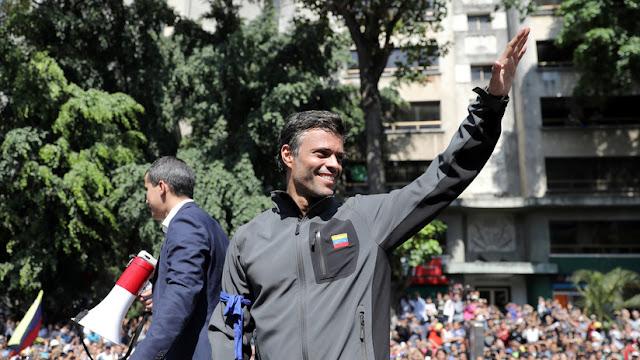 España confirma que Leopoldo López se encuentra en su Embajada en Caracas