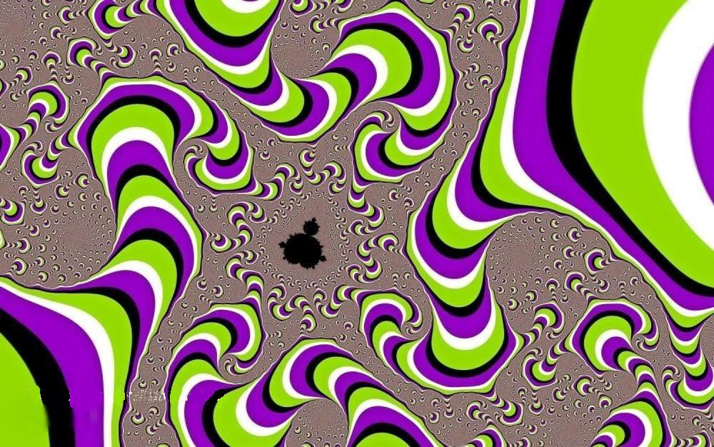 optical fractal illusion amazing unique illusions fractals trippy moving weird articles move