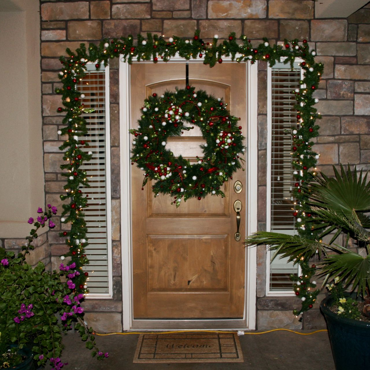Wreath and Garland Makeover - Over The Big Moon