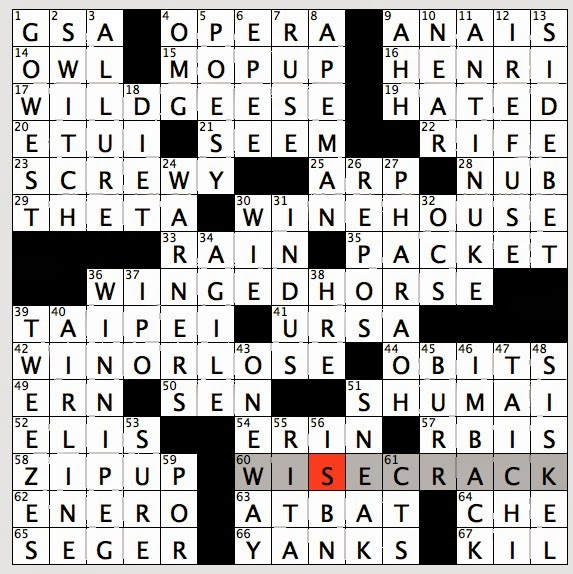 Rex Parker Does The Nyt Crossword Puzzle Bendel Of Fashion Tue 11 5 13 Journalist Skeeter Of Harry Potter Books Yale Whale Players Fed Procurement Overseer Like Better Active