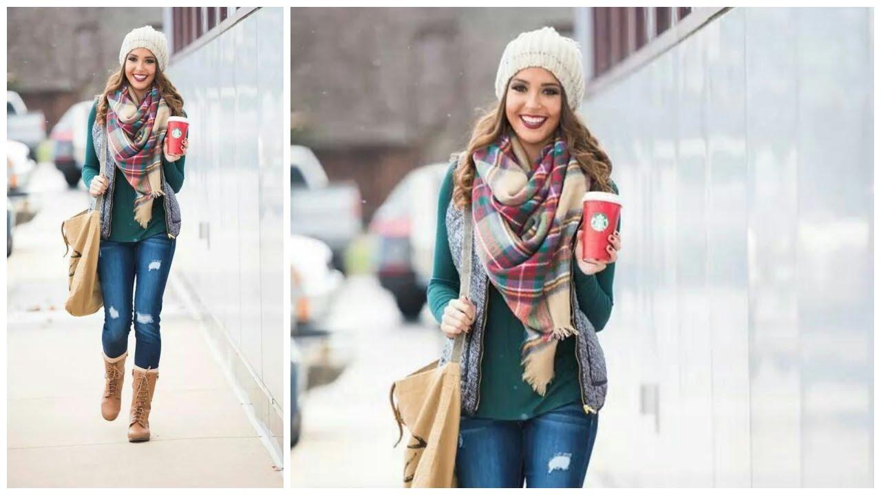 Mujer Radiante Outfit para Invierno