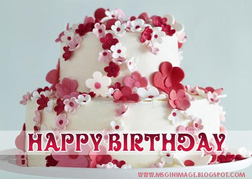 Birthday Cake Wallpaper D