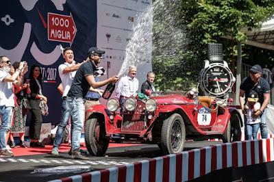 """Κυριαρχία της Alfa Romeo στον αγώνα του """"Mille Miglia 2017"""""""