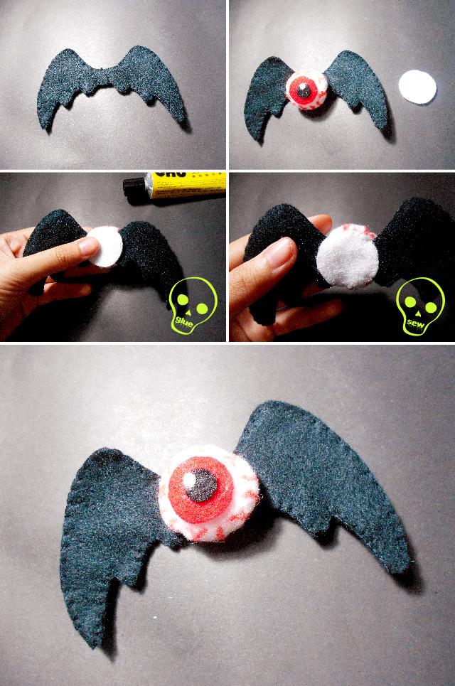 DIY Scary Halloween Accessories - Bat Wings Tutorial