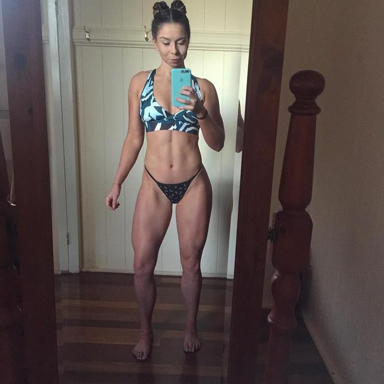Bec Chambers Australian fitness model