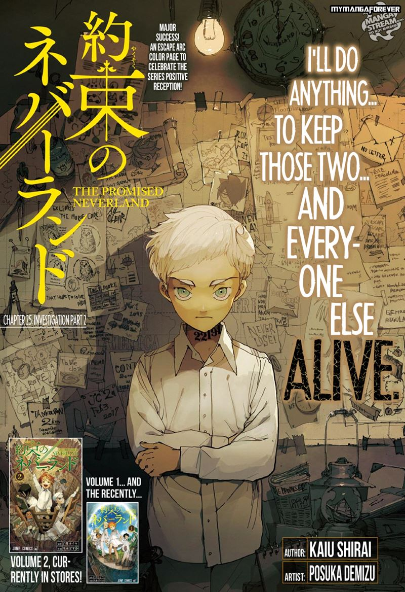 The Promised Neverland 025 TPN02501