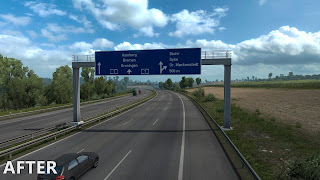 ets 2 realistic signs screenshots 1b