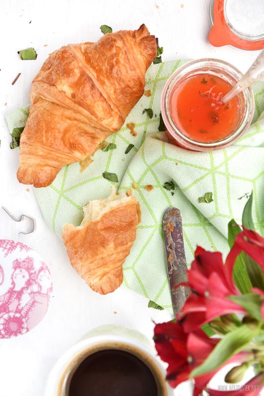 Marmeladenrezepte für den Sommer mit Melone und Minze