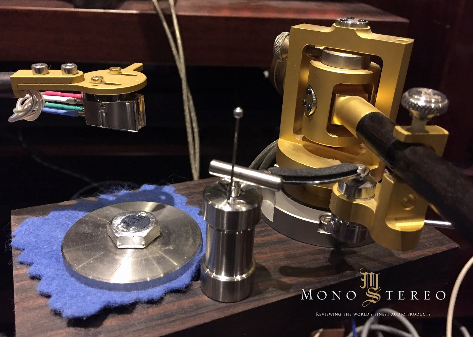 Mono and Stereo High-End Audio Magazine: Tru-Lift Tonearm Lifter ...