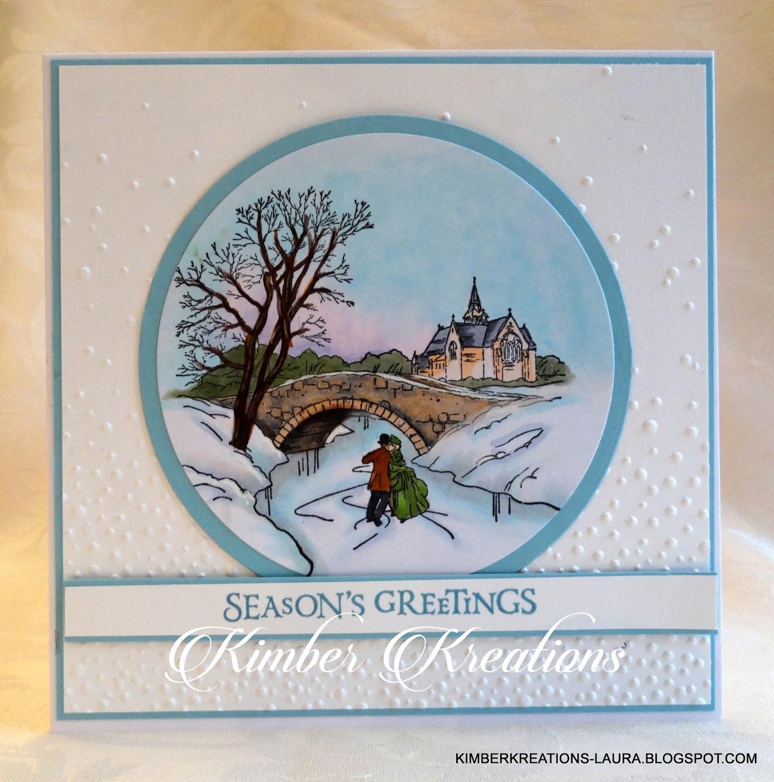 Kimber Kreations Cambridge Carols Christmas Card