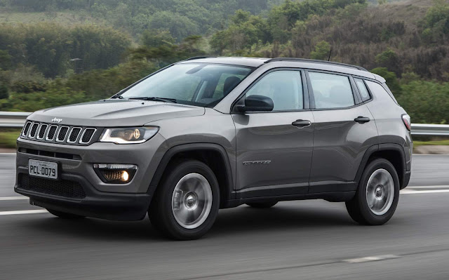 Novo Jeep Compass 2017 Sport 2.0 Flex
