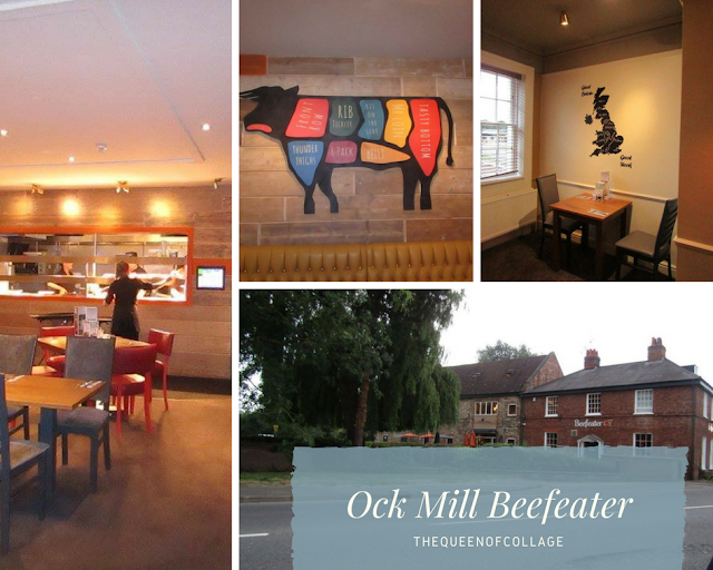 Dinner at the Beefeater Ock Mill Abingdon
